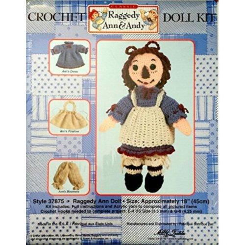 Raggedy Ann Crochet Doll Kit