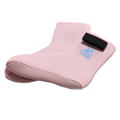Children Sand Socks Water Skin Shoes Diving Socks,Pink L
