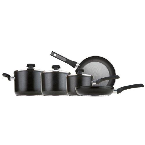Prestige Dura Forge Black and Grey 5 Piece Pan Set