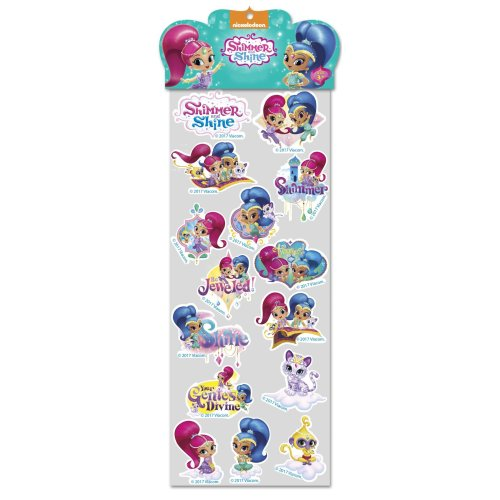 Shimmer and Shine Epoxy Stickers -