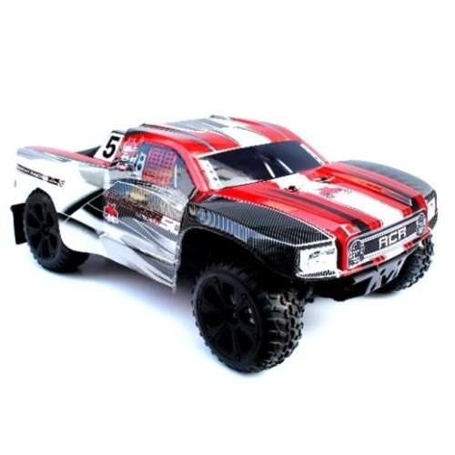Blackout SC Scale Electric Short Course Truck - Red
