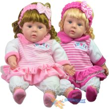 "24"" Lifelike Soft Bodied Baby Doll"