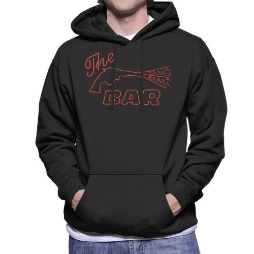 The Bang Bang Bar Neon Sign Road House Men's Hooded Sweatshirt
