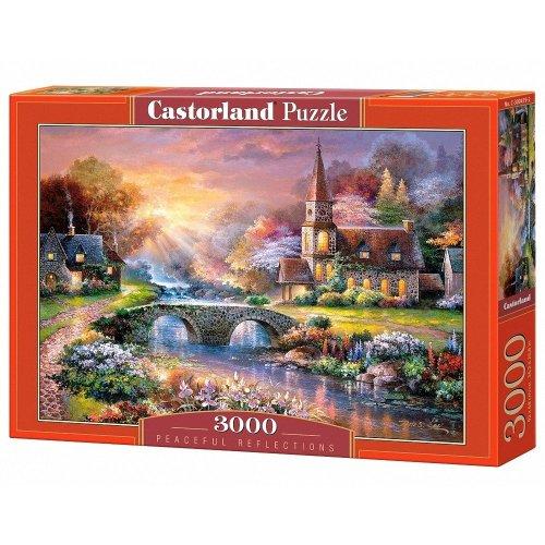 Csc300419 - Castorland Jigsaw 3000 Pc - Peaceful Reflections