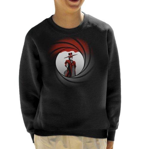 Alucard Hellsing Castlevania Bond Mix Kid's Sweatshirt