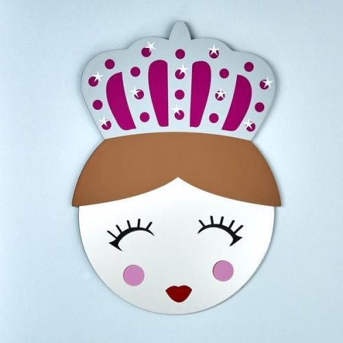 Floss & Rock Mirror Mask - Queen