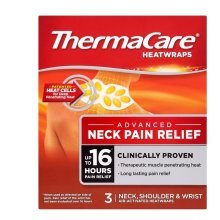 ThermaCare HeatWraps Neck Shoulder and Wrist 3 Pack