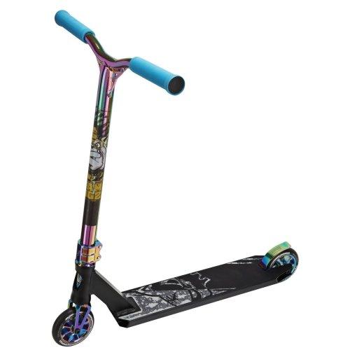 (Matt Black & Rainbow) Team Dogz Pro X Ultimate Kids' Stunt Scooter