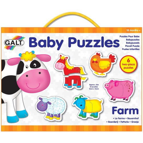 Galt Baby Puzzle Farm