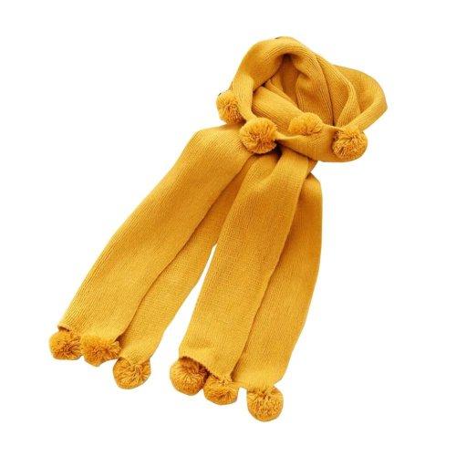 Soft Cotton Kids Scarf Winter Warm Scarf Neck Wrap for Kids