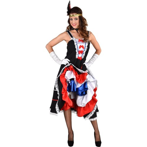 French Theme - Can Can Dancers Dress