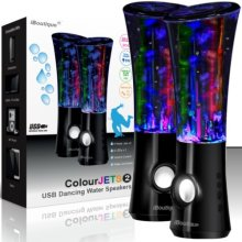 ColourJets 2nd Generation USB Dancing Water Speakers