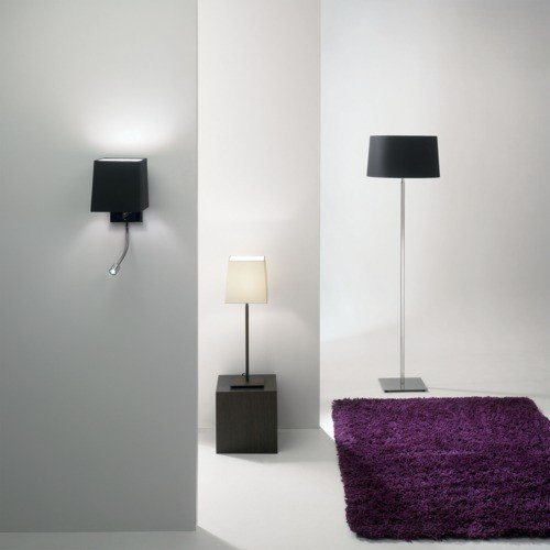 Azumi Black Tapered Square Shade - Astro Lighting 4019