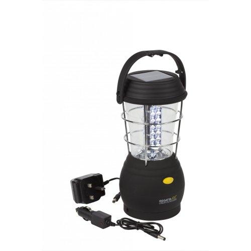 Regatta Helia 36 Solar Lantern with UK Plug - Black