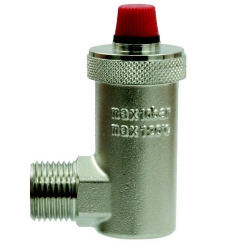 Automatic Air Vent 1/2 Inch / 15mm Valve, Side Entry