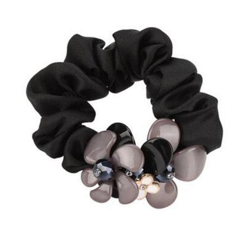 Stylish Hair Elastics Hair Ties Ponytail Holder Hair Accessories Girls Hairdressing, P