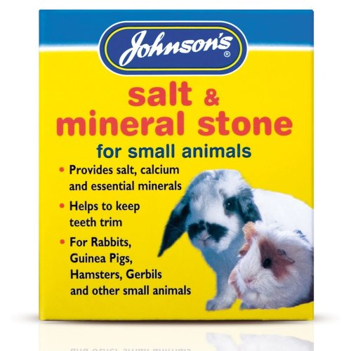 Jvp Small Animal Salt & Mineral Stone 120g (Pack of 6)