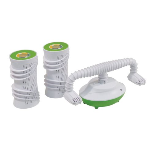 Twin Pack Reusable Silica Dehumidification Kit with Shoe Drying Function