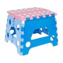 Creative Plastic Foldable Step Stool Portable Folding Stools Stepstool for Kids & Adults, No.10