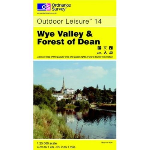 Wye Valley and Forest of Dean (Outdoor Leisure Maps)
