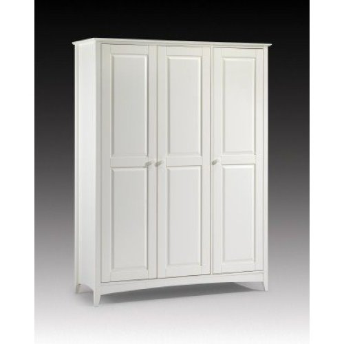 Treck White Stone 3 Door Wardrobe