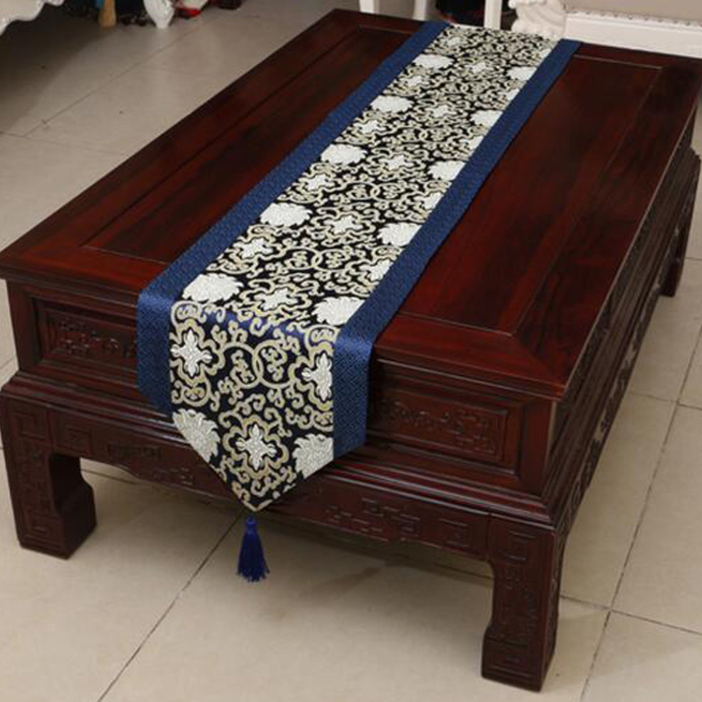 Beautiful Dining Table Runner Chinese Style Table Cloth