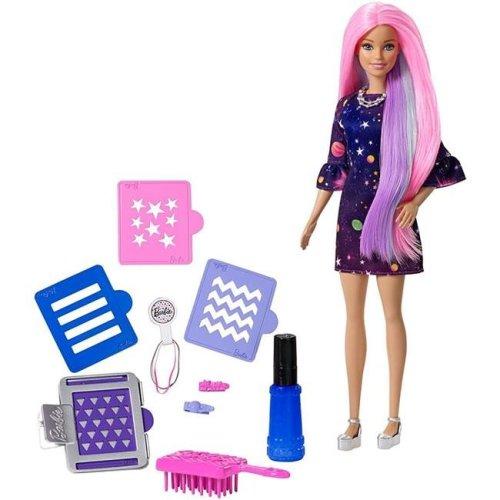 Mattel FHX00 Barbie Clear Surprise Doll, Pink