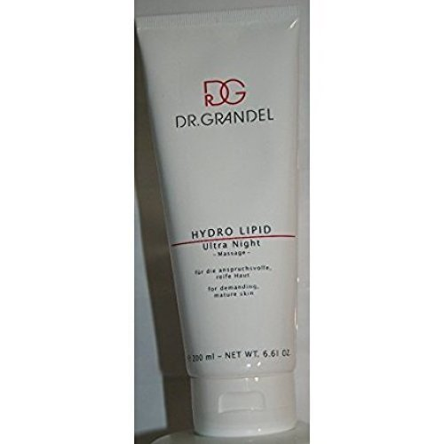 Dr. Grandel hydro lipid Ultra night Massage-200ml - Represents the hydro-lipid balance of mature, demanding skin recovers