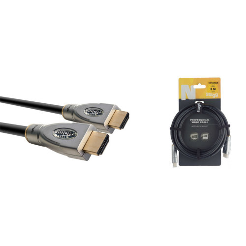 Stagg NVC3HAM 3m/10ft HDMI Cable
