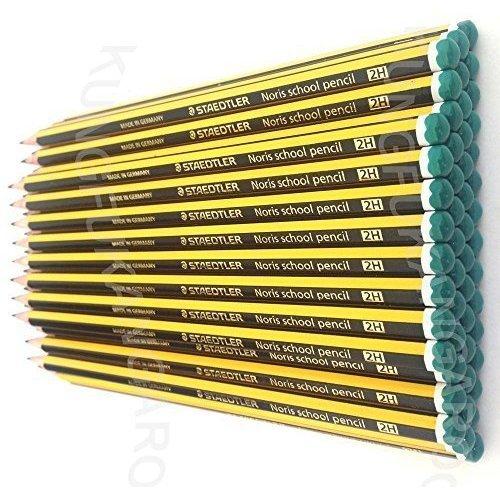 STAEDTLER NORIS SCHOOL PENCILS 2H [Box of 36]