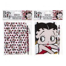 Betty Boop Notebook & Pen Set - betty boop notebook pen set