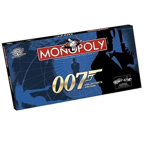 James Bond 007 Monopoly Collector's Edition Family Board Game New Sealed