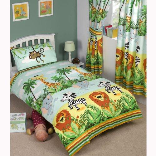 Jungle-Tastic Junior Duvet Cover and Pillowcase Set