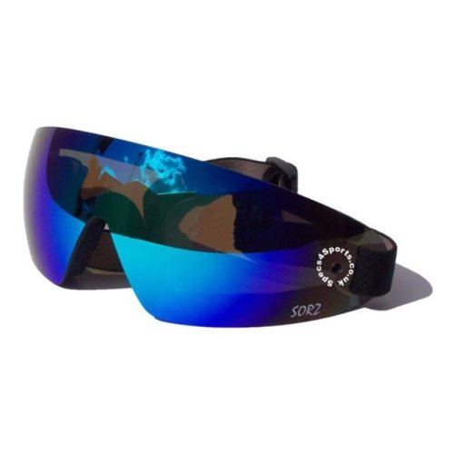 Goggle Lens - Jet Blue Mirror