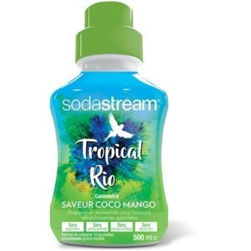 Sodastream Concentrate Syrup 500ml. Tropical Rio