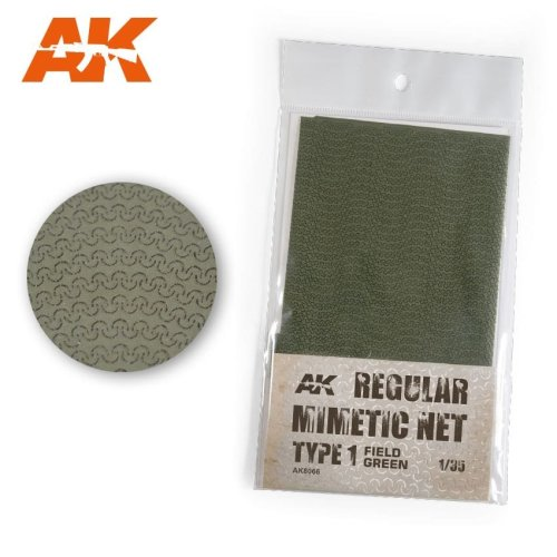 AK8066 - AK Interactive - Camouflage Net Type 1 Field Green
