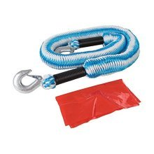 Silverline Tools 425492 2 Ton Elasticated Tow Rope, Blue - Vehicle Rope Tonne -  silverline elasticated vehicle tow rope 2 tonne 175 4m towing