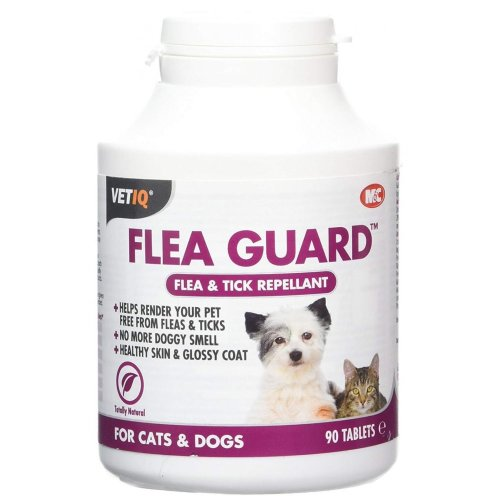 VetIQ Flea Guard Flea & Tick Repellent For Cats And Dogs