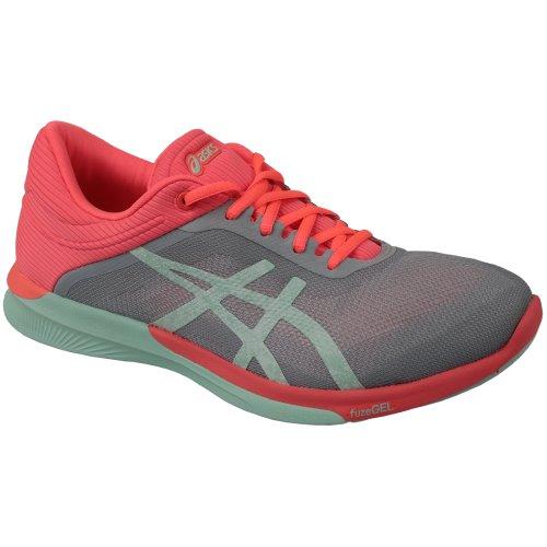 Asics FuzeX Rush T768N-9687 Womens Grey running shoes