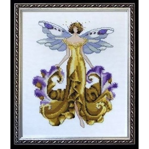 Pixie Couture Collection Iris Counted Cross Stitch Chart Pattern