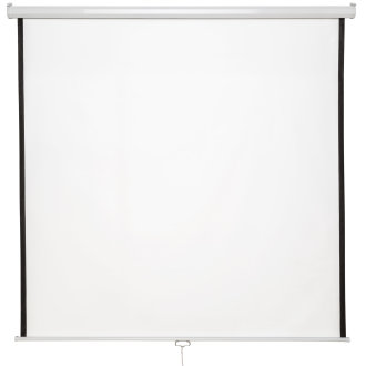 Projector screen HDTV 152 x 152 cm