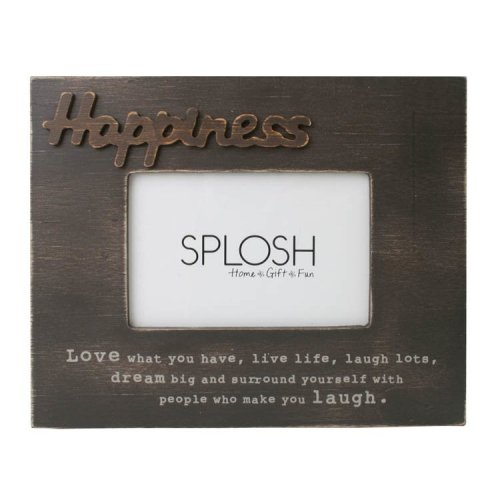 Happiness Photo Frame - Splosh Expressions