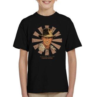 Indiana Jones Retro Japanese Kid's T-Shirt