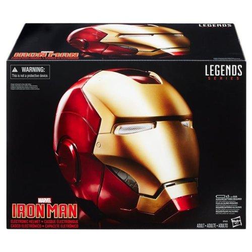 Hasbro HSBB7435 Avenger Legends Iron Man Electronic Helmet