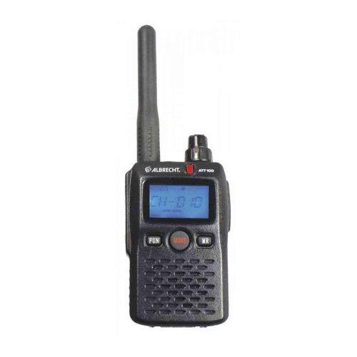 Portable PMR radio station Albrecht ATT 100, 10 channels, 1400mAh battery, for travel guide