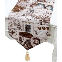 Retro Coffee Table Cloth Elegant Table Runners Table Cloth Tablecloths