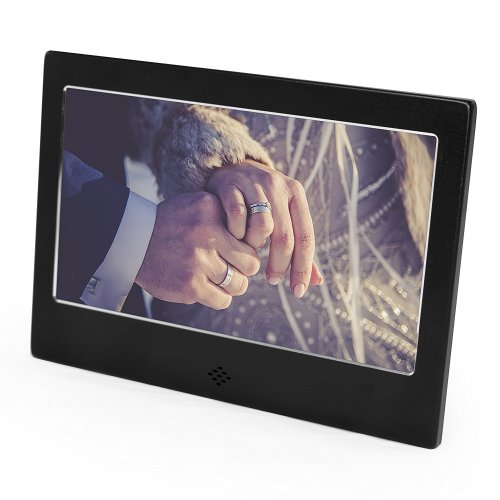 "Digiflex Multifunctional Digital Photo Frame | 7"" LCD Picture Frame"