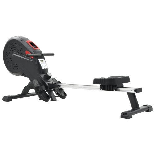 vidaXL Rowing Machine Air Resistance Home Gym Cardio Workout Exercise Fitness