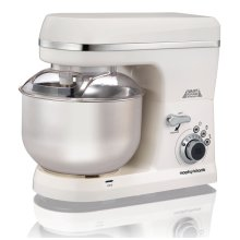 Morphy Richards 400015 Total Control Food Stand Mixer 800W 5 Litre White
