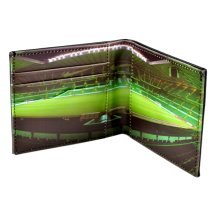 Celtic Fc Leather Wallet - Panoramic - Football Gifts